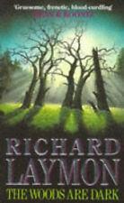 RICHARD LAYMON __ DIE WOODS SIND DUNKEL __ AUSSTELLUNGSSTÜCK __ WERBEANTWORT UK