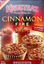 KRUSTEAZ 'Cinnamon Fire' Premium Baking  Mix Backmischung 1210 gr Original USA