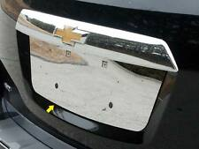 FITS CHEVY EQUINOX 2010-2016 STAINLESS CHROME LICENSE PLATE TRIM