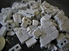 1/35th scale Breeze block wall and rubble, Tamiya Meng diorama