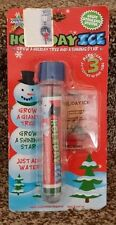 Holiday Ice Grow A Tree & Shining Star Christmas Science Toy Stocking Stuffer
