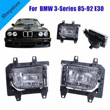 For BMW 3-Series 85-92 E30  Front Bumper Clear Driving Twin Fog Lights Bracket