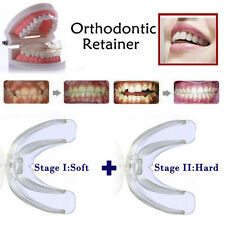 Soft and Hard Dental Orthodontic Teeth Braces Tooth Retainer 2pcs - Phase I + II