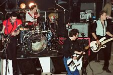 "12""*8"" concert photo of The Clash, Birmingham in 1980"