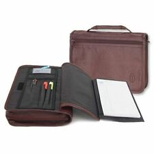 Wordkeeper &#174 New Organizer Bible Cover, Leather, Burgundy, Large