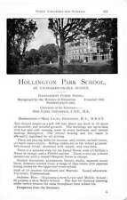 1955 Hollington Park St Leonards On Sea Sussex Miss Beeforth School Ad