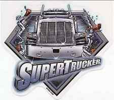 RARE TRUCKER BIG RIG SUPER TRUCKER SEMI TRUCK VINYL STICKER/DECAL By ODM