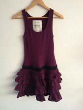 SuperDry Dress Size M Jersey Top With Rara Skirt Purple  R9372