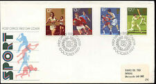 GB FDC 1980 Sport, Wembley Boxing Cardiff H/S Cover #C15284