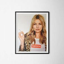 "Kate Moss Supreme Poster A3 11x17"" 43x29cm. Highest Quality On eBay"
