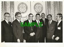 ORIGINAL PRESS PHOTO DENIS HEALEY LABOUR WITH COMMON MARKET MINISTERS 1975