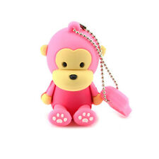 Affe Monkey Pink - USB Stick 8 GB Speicher  USB Flash Drive