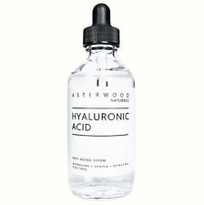 Hyaluronic Acid 20% Serum Organic Vegan AntiAging Wrinkle Asterwood Naturals 4oz
