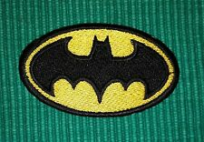 Batman Small Size  Embroidered Iron-on / Sew-on Movie lover Patch / Badge / Logo