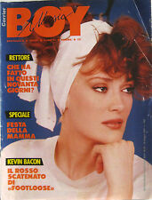 BOY MUSIC 20 1984 Rettore Paul Young Kevin Bacon Simple Minds Roger Daltrey