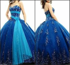 New Quinceanera Dresses Ball Gown For 15 Years Prom Party Dress Custom Made++