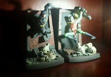 DC Comics Batman and Robin Deluxe  Bookends Statue Set New 1997