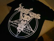 HARD ONS shirt EXCEL BLACK FLAG THE ACCUSED RAW POWER SUICIDAL TENDENCIES VOID T