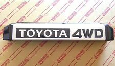 Genuine OEM Toyota Land Cruiser rear license plate lamp cover 70 series