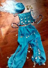 Children's 4-Piece Belly Dance Costume - Authentic Turkish