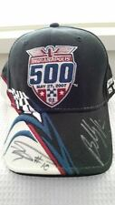DAN WHELDON AND BUDDY RICE SIGNED INDY 500 LIMITED EDITION BASEBALL STYLE CAP