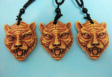 3pcs fashion yellow tiger totem design tibet necklace super pendant