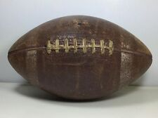 1930's /40's Vintage leather football Higgins Spalding ?