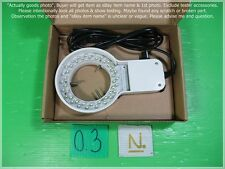Microscope LED Ring light lamp as photo, Use for Olympus Nikon, sn:set 1.