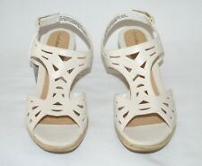 Women's Croft & Barrow Iris Wedge Heels Sandal Size 9