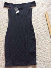 black tight fit dress size 6 petite bnwt