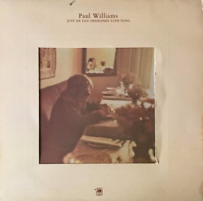 PAUL WILLIAMS - Just An Old Fashioned Love Song (LP) (VG-EX/VG)