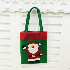 New Santa Claus Gift Bags Merry Christmas Candy Bags Green