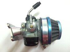 Carburatore 15/15 Completo Di Filtro E Collettore Per Mini Moto Mini Cross Quad
