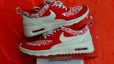 NEW NIKE AIR MAX THEA SE VALENTINES DAY YOUTH SIZE 7 Y RED WHITE RUNNING SHOES