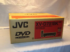 JVC XV-D701BK DVD Audio CD / Video dvd  Player NOS