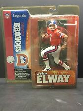 John Elway Broncos Legends series 1 NFL McFarlane Toys Action Figure 2005 New B1