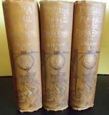 Puznam's Popular Histories The Decline and Fall of the Roman Empire c 1872 3 Vol