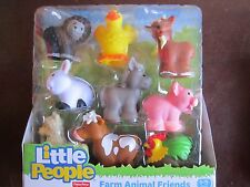 Fisher Price Little People farm barn NEW Animal Friends 9 pack llama rooster pig