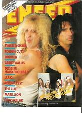 """ALICE COOPER / Dee Snider cover only magazine PHOTO / Pin Up / Poster 11x8"""""""