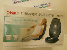 BEURER Massage Seat Cover! FEEL-GOOD-MASSAGE with Heat Function MG156 BRAND NEW!
