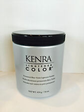 KENRA HAIR LIGHTENER COLOR BLUE VIOLET PERMANENT POWDER - 16oz