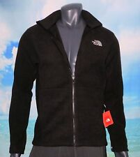 THE NORTH FACE MEN'S BLACK FLEECE TUNDRA 300 THICK SIZE MEDIUM FULL ZIP JACKET