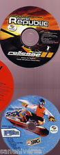 2 CD AUDIO GAME SOUNDTRACK GIOCHI PLAYSTATION RETROGAME-ROLLCAGE 1,SSX SNOWBOARD