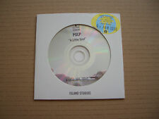 PULP - A LITTLE SOUL - ADVANCE PROMO CD SINGLE - JARVIS COCKER