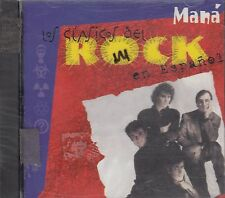 Mana Los Clasicos Del Rock En Espanol CD New Sealed