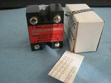 Douglas Randall Model:  R25B Solid State Relay.  New Old Stock