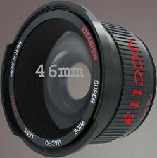 40.5mm 0.42X Wide Lens FISHEYE For Sanyo Xacti VPC-HD1000 VPC-HD2000 HD1010