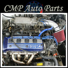 BLUE RED 1992-1999 TOYOTA PASEO 1.5L 4 CYCL AIR INTAKE INDUCTION KITSYSTEMS