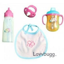 Bottle Cup Feeding Set fits American Girl Bitty Baby Doll Widest Selection Found