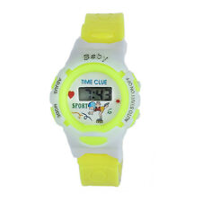 Fashion Colorful Boys Girls Kids Electronic Digital Watches Sports Wrist Watch